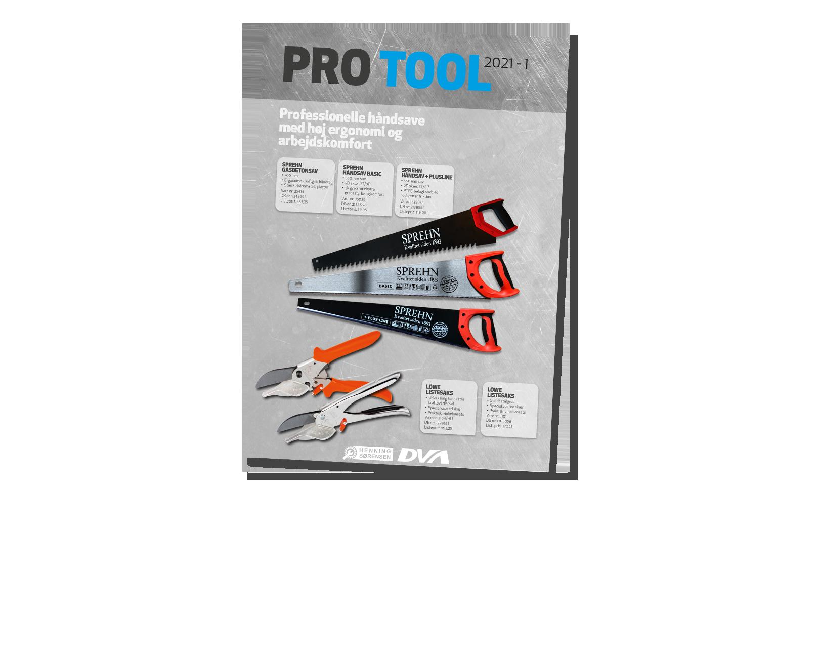 Ny Pro Tool magasin – Byggeri